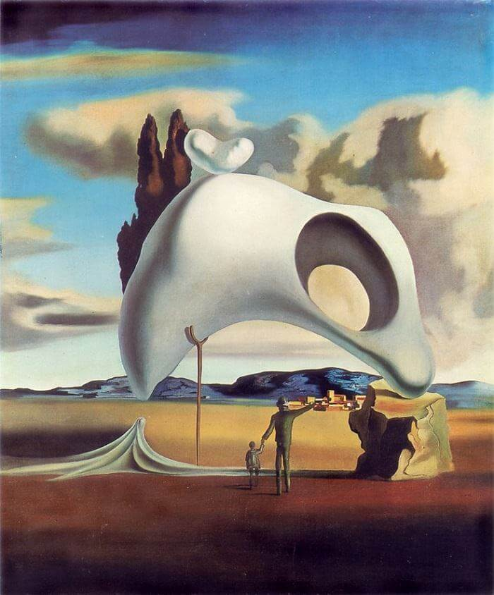 Atavistic Ruins after the Rain, 1934 by Salvador Dali