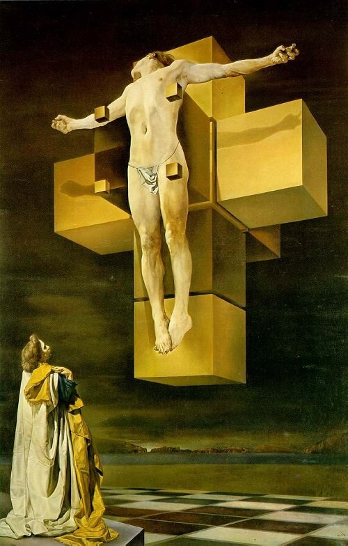 Crucifixion, 1954 by Salvador Dali