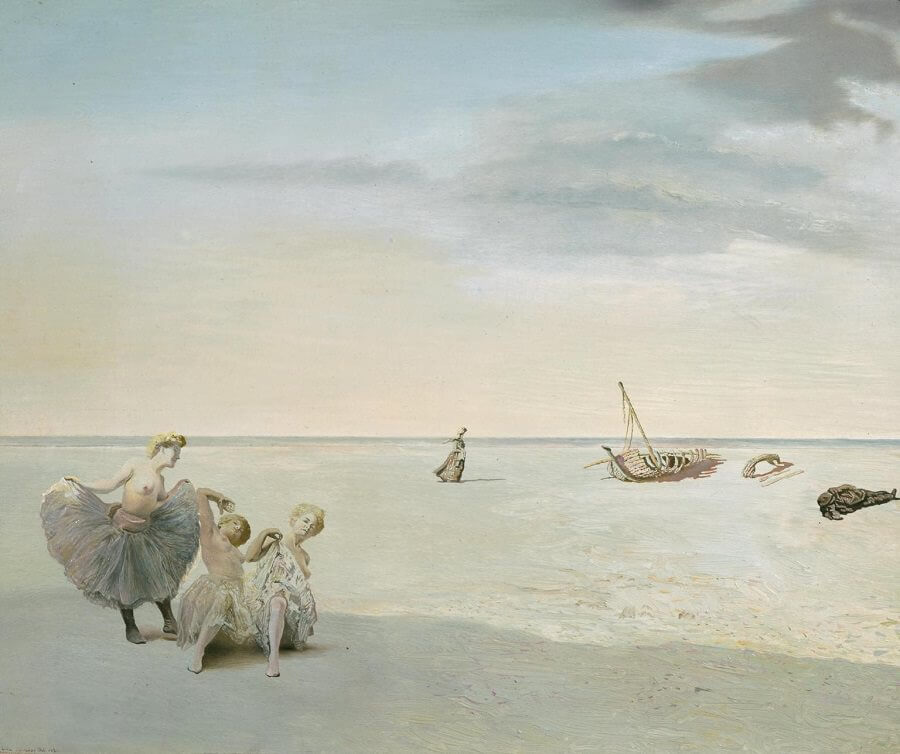 Forgotten Horizon, 1936 by Salvador Dali