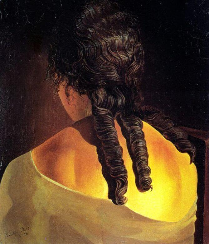 Girl's Back, 1926 by Salvador Dali
