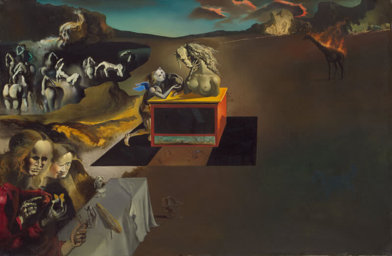 Inventions of the Monsters, 1937 by Salvador Dali
