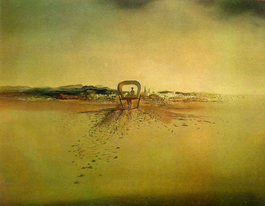 Phantom Cart, 1933 by Salvador Dali