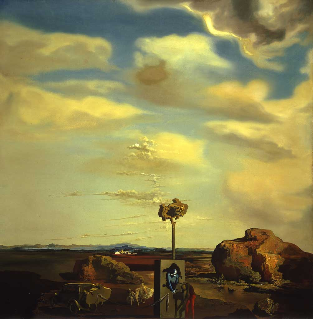 Puzzle of Autumn, 1935 by Salvador Dali