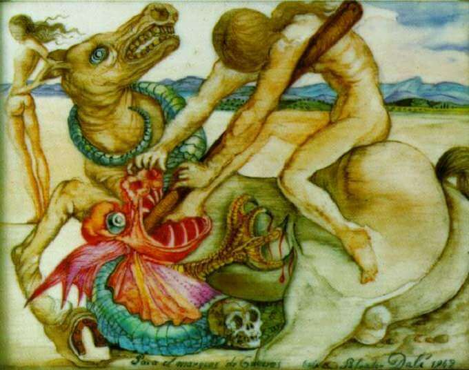 Saint George and the Dragon, 1942