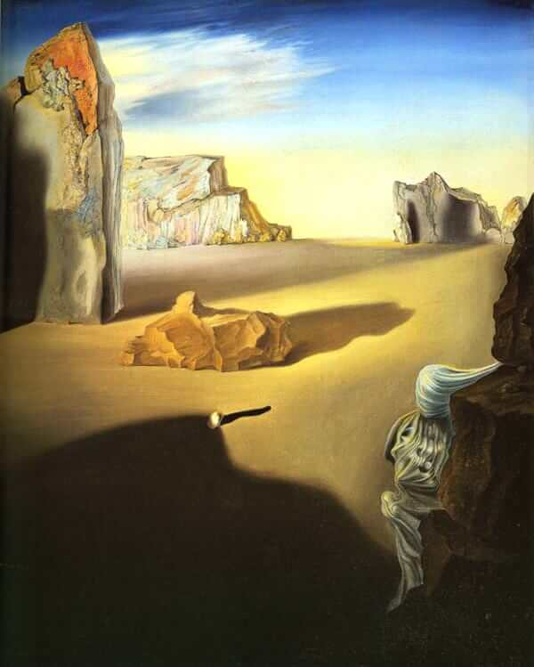 Shades of Night Descending, 1931 by Salvador Dali