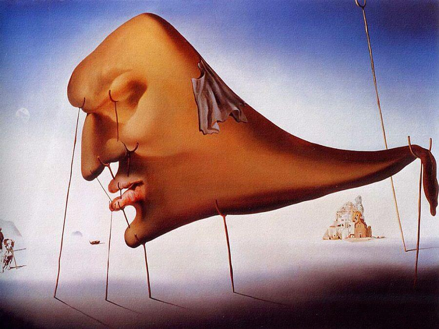 le sommeil sleep 1937 by salvador dali