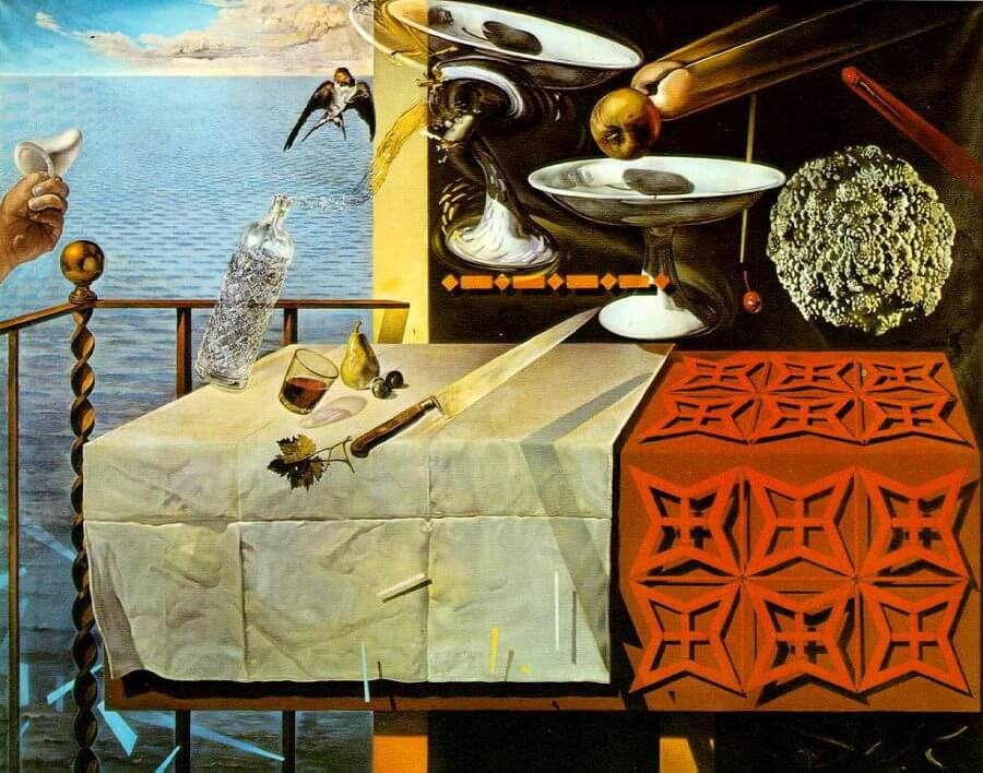 The Still Life - Fast Moving, 1956 by Salvador Dali
