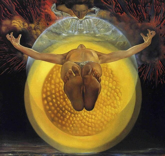 The Ascension of Christ, 1958 by Salvador Dali