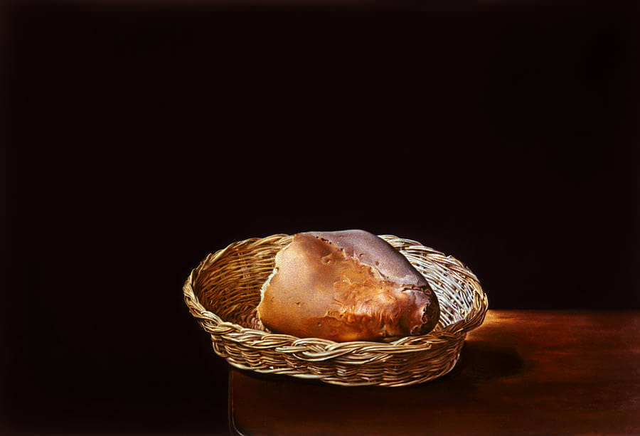 The The Basket of Bread, 1945 by Salvador Dali