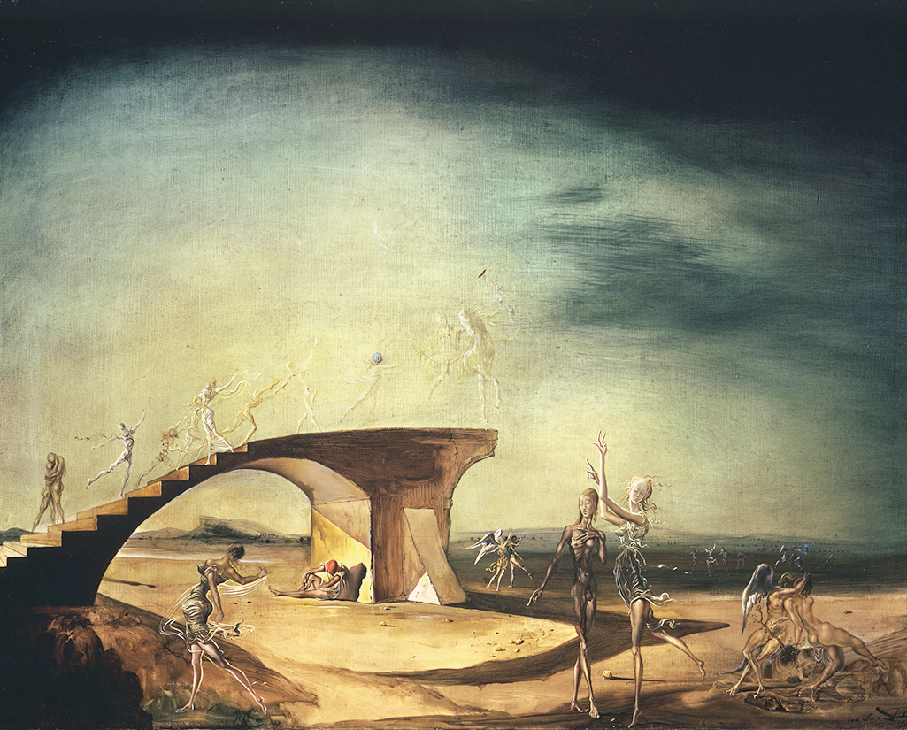 The Broken Bridge and the Dream, 1945 by Salvador Dali