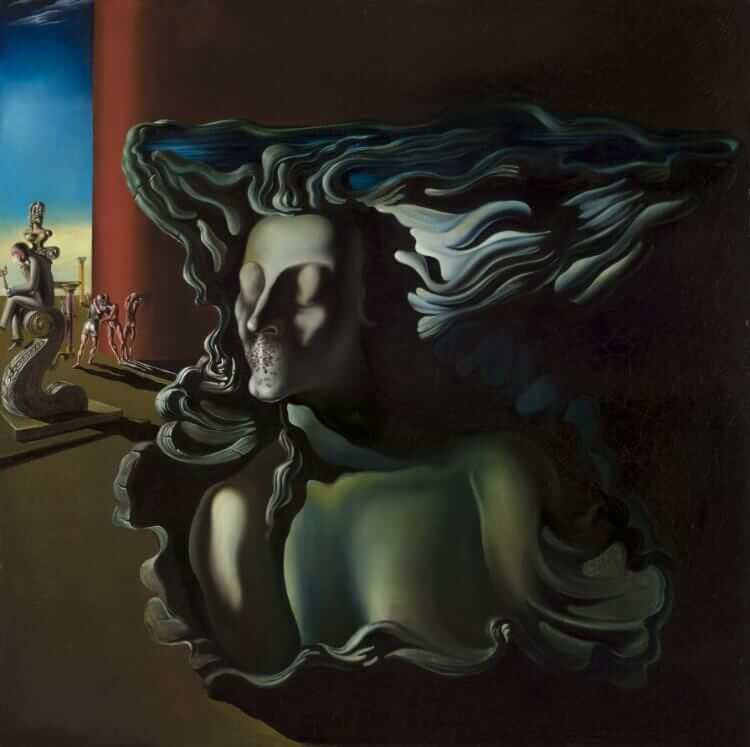 The Dream, 1931 by Salvador Dali