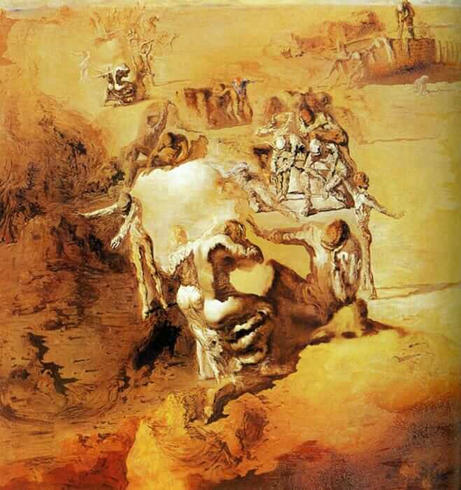 The Great Paranoiac, 1936 by Salvador Dali