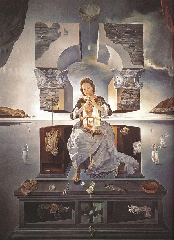 The Madonna of Port Lligat, 1950 by Salvador Dali