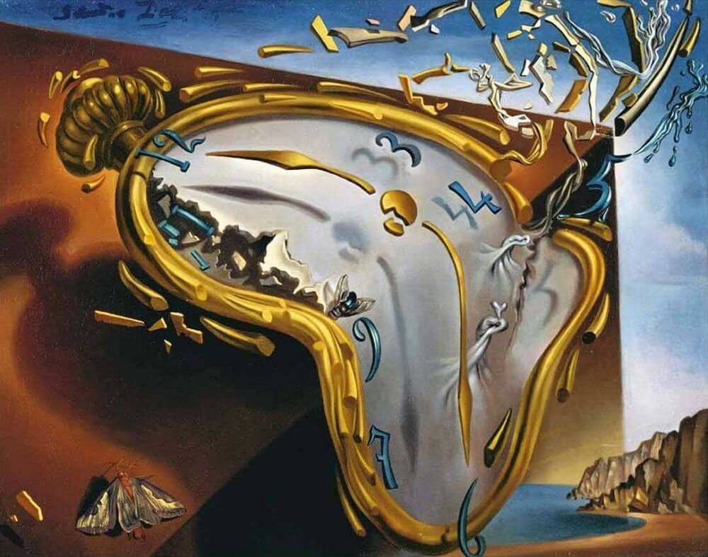 Souvent Melting Watch, 1954 by Salvador Dali AA32