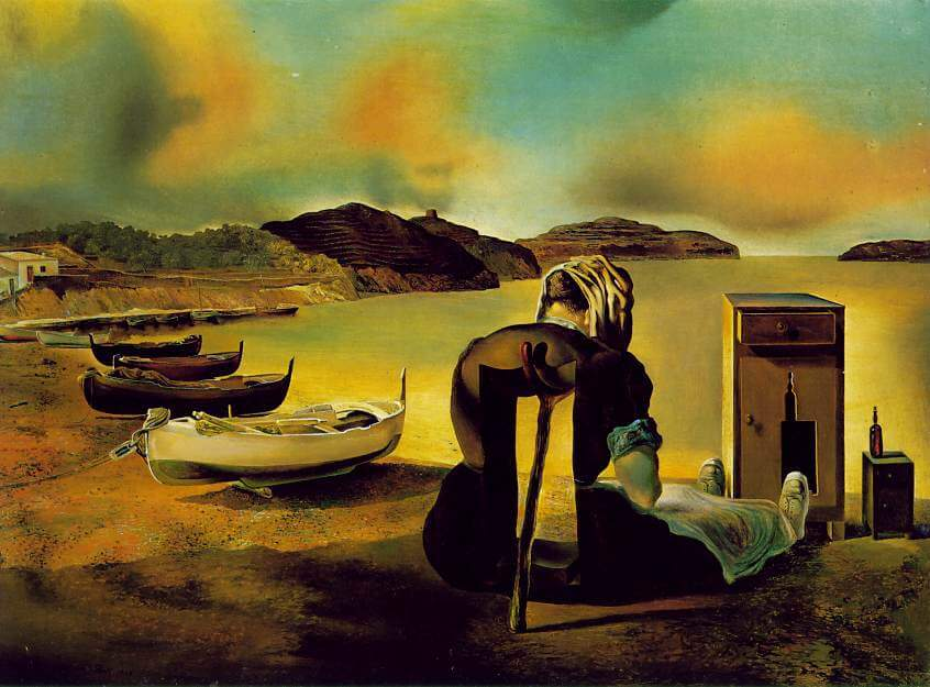 The The Weaning of Furniture Nutrition, 1934 by Salvador Dali